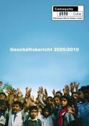 Geschäftsbericht 2009/2010 - Camaquito