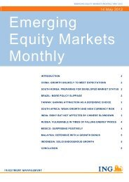 Emerging Equity Markets Monthly - Funds People