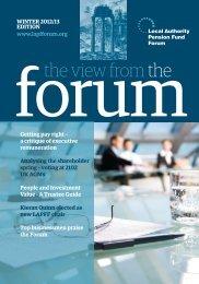 Winter Newsletter 2012 - LAPFF
