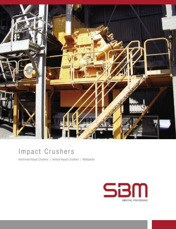 Product line impact crushers - SBM