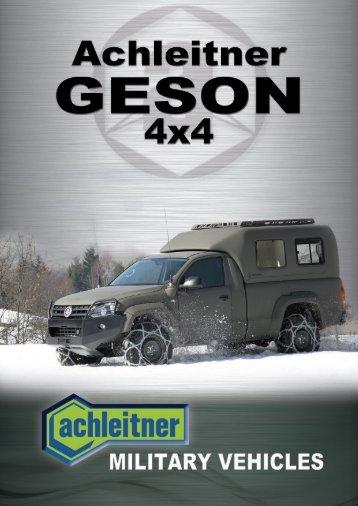 geson - Franz Achleitner Fahrzeugbau und Reifenzentrum GmbH