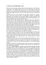 1 27. SONNTAG IM JAHRESKREIS 2009 Jedes ... - Pfarre Wieselburg