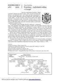 Esterházy - nejbohatší rodina v Evropě - rodopisna-revue-online