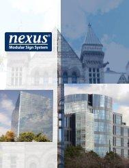 Nexus Modular Sign System