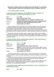 Semináře a workshopy pořádané v roce 1998 (PDF, 25 kB )