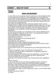 ARBEIT – WAS IST DAS? 1. - AK - Tirol - Arbeiterkammer
