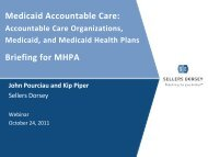 Download the presentation (PDF) - Medicaid Health Plans of America
