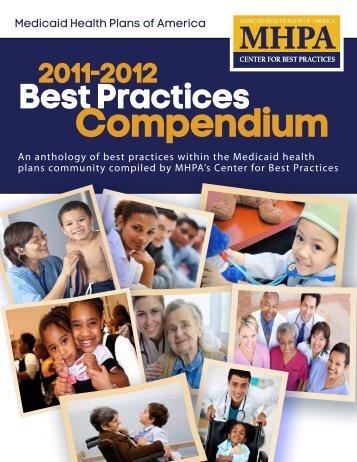 2011-2012 Best Practices Compendium - Medicaid Health Plans of ...