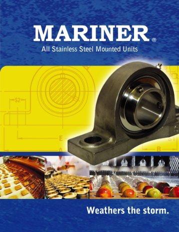 Mariner Stainless Steel Pillow Blocks Brochure (PDF)