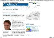 Schwäbisches Tagblatt 05.07.2011 - Dres. Bayer-Stiftung