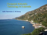 Computer Networks Technology in Indonesia