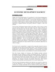 EXHIBIT J Economic Development Element.pdf - Clay County!