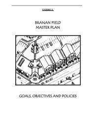 BRANAN FIELD MASTER PLAN GOALS ... - Clay County!