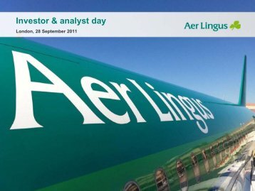 Investor & analyst day - Aer Lingus