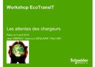 Jean Oberlé, Schneider Electric - EcoTransIT