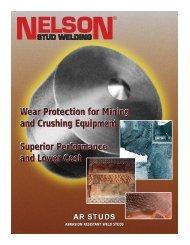 Abrasion Resistant Weld stud - Nelson Stud Welding