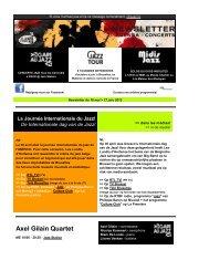 16 mei 2012 - Jazz in Belgium