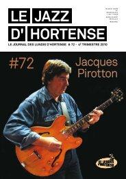 Octobre 2010 - Les Lundis d'Hortense