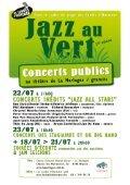 Jazz au Vert - Les Lundis d'Hortense - Page 6