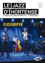 Le JAZZ d' Hortense #77 - Les Lundis d'Hortense