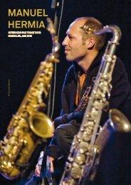 MANUEL HERMIA - Jazz in Belgium
