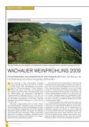Artikel lesen - Vinea Wachau