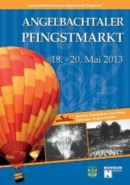 Angelbachtaler Pfingstmarkt 2013 - lokalmatador.de
