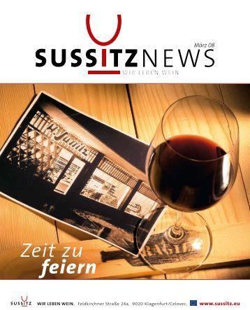 Zeit zu feiern - Sussitz Wein
