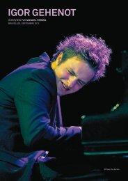 Igor gehenot - Jazz in Belgium