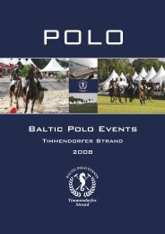 Baltic Polo Events - Airport Hotel Regent
