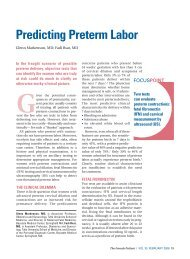 Predicting Preterm Labor