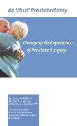da Vinci® Prostatectomy - Penn State Milton S. Hershey Medical ...