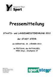2012 Pressemitteilung+Erfolge+Statistik.pdf - LAC-Amateure Steyr