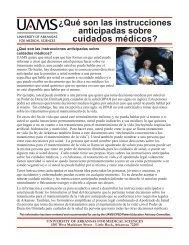 ¿Qué son las instrucciones anticipadas sobre cuidados médicos?