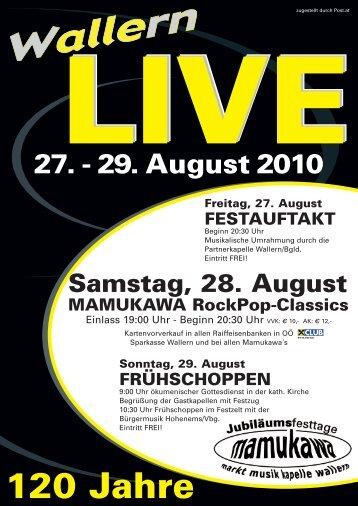 Wallern Live 2010