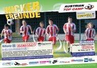 AUSTRIAN TOP CAMP - Besuchen Sie auch SportsTeamCamps!
