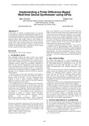 Implementing a Finite Difference-Based Real-time ... - NIME 2011
