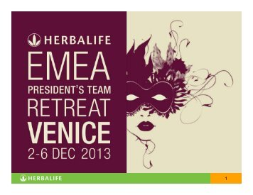 qualification - 2013 EMEA Events