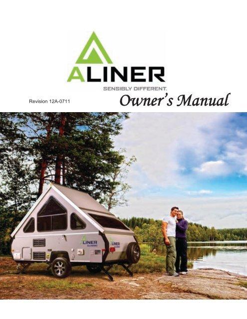 Owner's Manual - Aliner