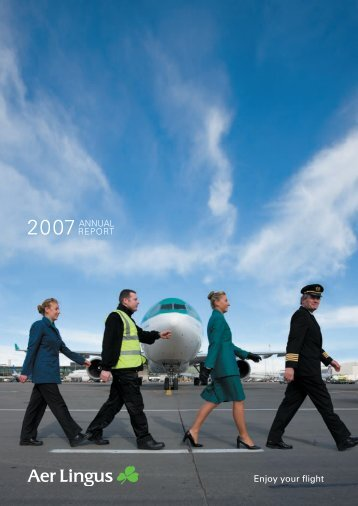 Enjoy your flight - Aer Lingus