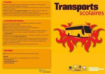 Charte transports - aspaire