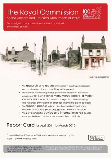 Report Card 2011-12 - Royal Commission on the Ancient and ...