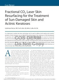 Fractional CO2 Laser Skin Resurfacing for the Treatment of Sun ...