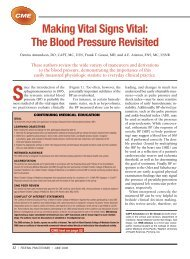 Making Vital Signs Vital: The Blood Pressure Revisited