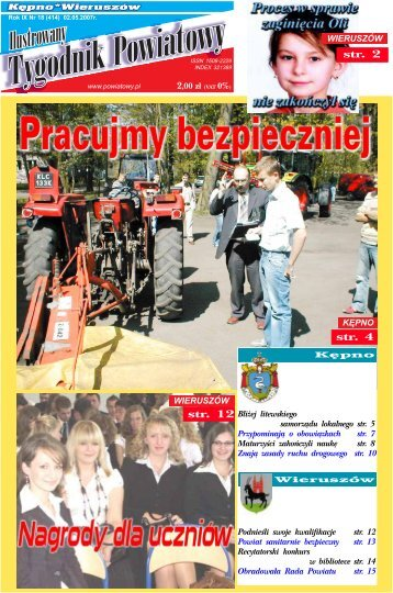 str. 2 str. 4 - Tygodnik powiatowy
