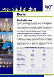 Berlin, März 2013 - PKF