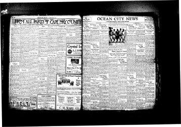 Jul 1927 - On-Line Newspaper Archives of Ocean City