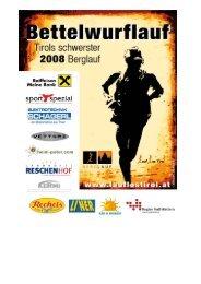 Ergebnisliste 2008 - Lauf Los Tirol