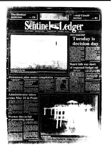 May 1990 - Newspaper Archives of Ocean County