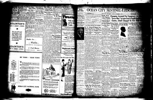 Sorry On Line Newspaper Archives Of Ocean City